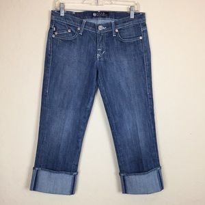 Rock & Republic Denim Cropped Capri